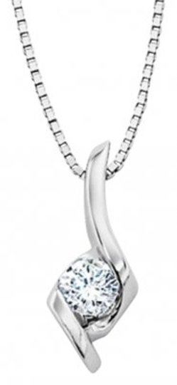 Preload https://item3.tradesy.com/images/gordon-s-jewelers-diamond-14-carat-pendant-in-14k-white-gold-necklace-172917-0-0.jpg?width=440&height=440