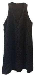 Ella Moss short dress Black Cora Crochet Summer on Tradesy