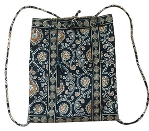 Vera Bradley Quilted Silver Hardware Backpack