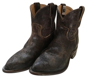 Frye Ankle Boot Distressed Chocolate Boots
