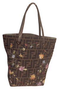 Fendi One-of-a-kind Stitching Tote
