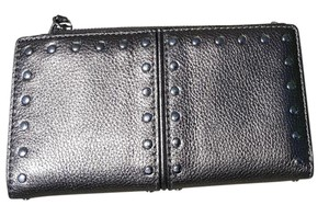 Michael Kors Michael Kors Metallic Bronze wallet with silver studs