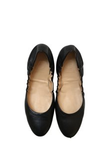 J.Crew Leather Made In Italy Black Flats