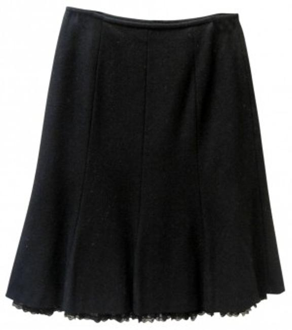 Preload https://item4.tradesy.com/images/antonio-melani-black-wool-with-lacey-knee-length-skirt-size-6-s-28-17293-0-0.jpg?width=400&height=650