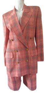 Escada ESCADA Plaid Short Suit