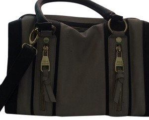 Steve Madden Satchel in Tan And Black