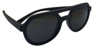 Von Zipper New VONZIPPER Sunglasses VZ PSYCHWIG Black Satin Frame w/ Grey Lenses