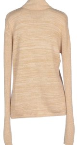 See by Chloé Chloe Gold Turtleneck Glamorous Sweater