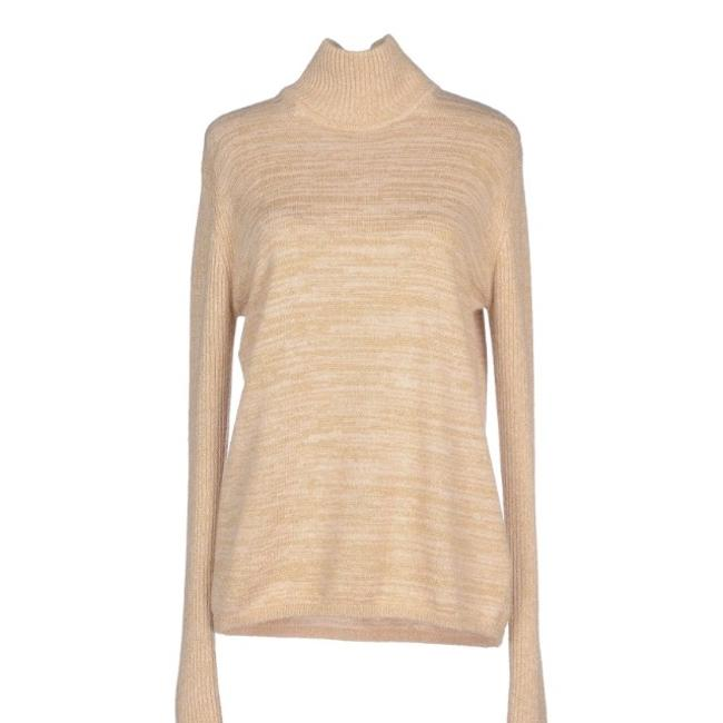 See by Chloé Gold Turtleneck Glamorous Sweater