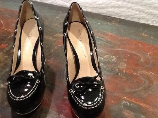 Sperry Black Patent Platforms