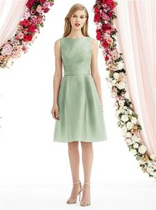 After Six Suede Rose 6744 Dress