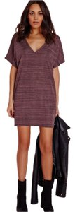 Missguided short dress Purple Marl on Tradesy