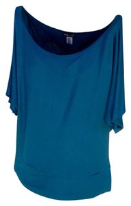Wet Seal Top Teal