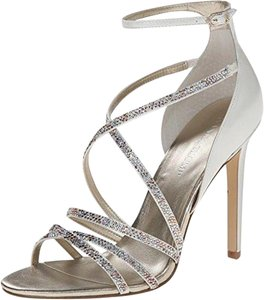 Ivanka Trump Gold Multi Sandals