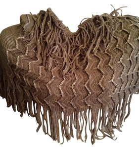 Other Fringed Infinity Scarf