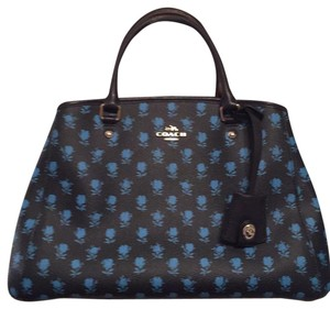 Coach Satchel in Midnight Multi