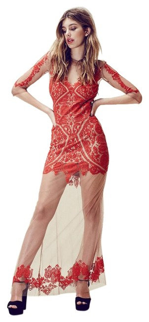 Item - Red Lotus Long Casual Maxi Dress Size 4 (S)