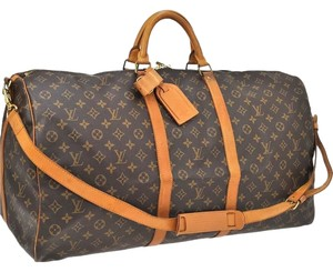 Louis Vuitton Lv Brown Travel Bag