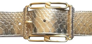 Michael Kors Exotic Leather Belt