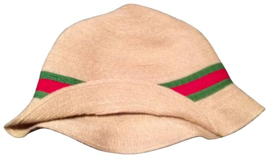 Preload https://img-static.tradesy.com/item/172972/gucci-tan-with-red-green-stripe-fedora-hat-0-0-540-540.jpg