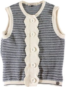 See by Chloé Chloe Blue Knit Vest Sweater