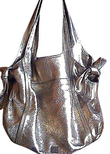 Preload https://item2.tradesy.com/images/kooba-carmine-by-metallic-soft-gold-almost-silver-leather-satchel-1729796-0-0.jpg?width=440&height=440
