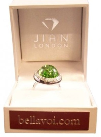Jian London Stardust Chrome Sapphire Dome Ring