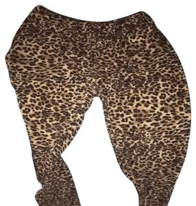 Active Basic Cheetah Print Leggings
