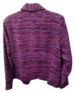 Coldwater Creek Chenille Stripe Jacket-Misses 10-12