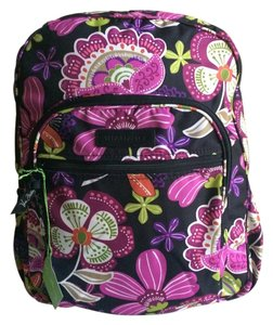 Vera Bradley Lightenup Polyester Floral Backpack