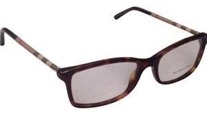 Burberry Burberry 2120 Tortoise Eyeglass with Burberry Print on Sides