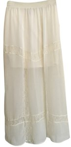H&M Maxi Skirt white