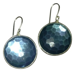 Ippolita Ippolita Large Lollipop Indigo And Mother Of Pearl Drop Earrings