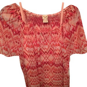 Faded Glory Top Coral