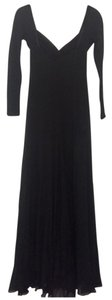 Blk Maxi Dress by Giannini