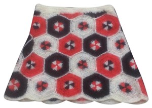 Vivienne Tam Skirt Red, White and Black