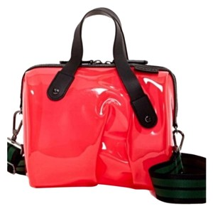 Hunter Watermelon, Black Travel Bag