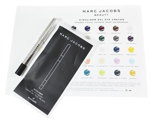 Marc Jacobs 3 X Marc Jacobs Highliner Gel Eye Crayon Eyeliner In Blacquer (Black)