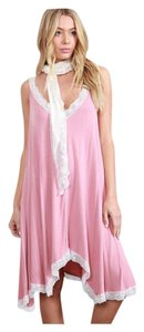 Other short dress Strawberry Pink Bohemian Free People Anthropology Hippie Vintage on Tradesy