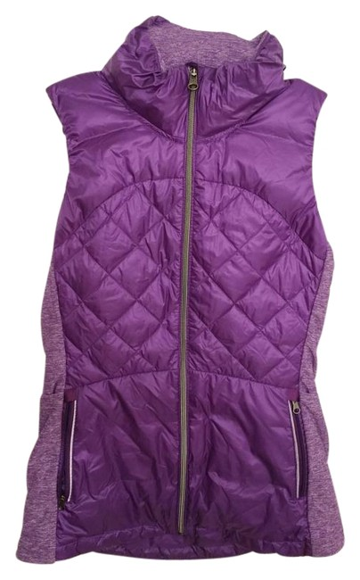 Item - Purple Down For A Run Activewear Outerwear Size 6 (S, 28)