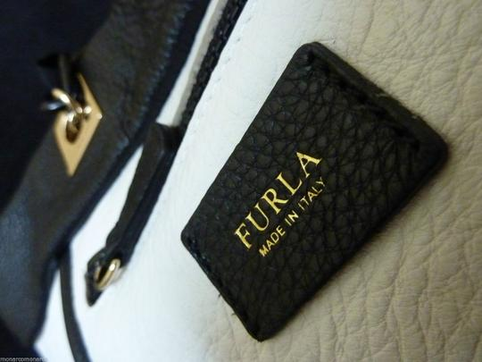 Furla Tote in Black/White