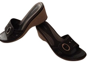Croft & Barrow Black Sandals