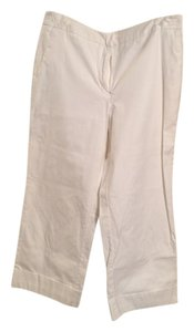 New York & Company Dressy Work Casual Capris White
