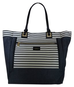 Furla Tote in Black/White/Gray