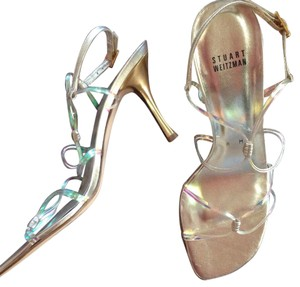 Stuart Weitzman Gold/iridescent Formal
