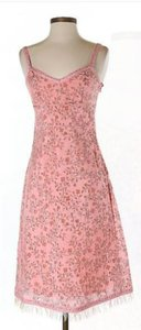 Betsey Johnson short dress Pink Print on Tradesy