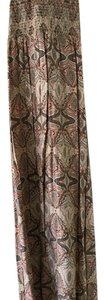 Neutral Paisley Maxi Dress by Charlotte Russe