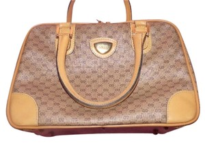 Gucci Doctor's Speedy/boston Classic Satchel in shades of brown in small G logo