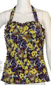 Alice + Olivia Top greern / yellow /purple / orange
