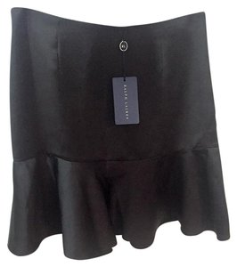 Ralph Lauren Blue Label Silk Mini Skirt Black